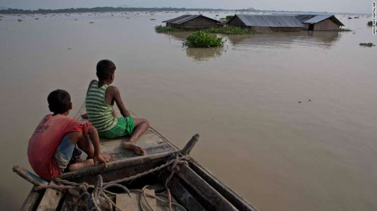 Floods inundate several parts of the country, affecting millions every year