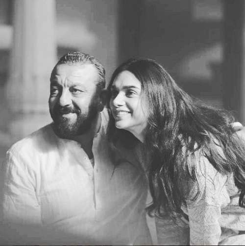 aditi rao hydari and sanjay dutt in bhoomi