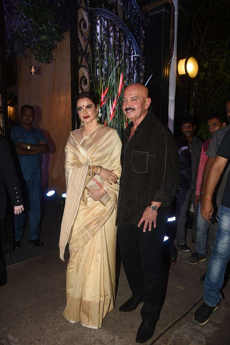 India TV - Rekha, Rakesh Roshan