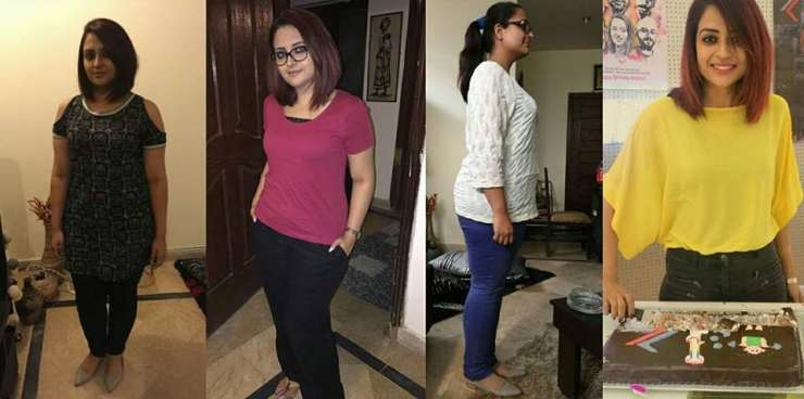 Rimsha Ali Shah from Pakistan lost 90 kgs of weight