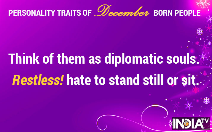 Personality traits of December-born