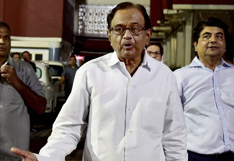 Shame on RBI which 'recommended' demonetisation: Chidambaram