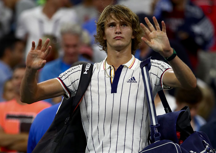 Zverev eliminated in US Open second round