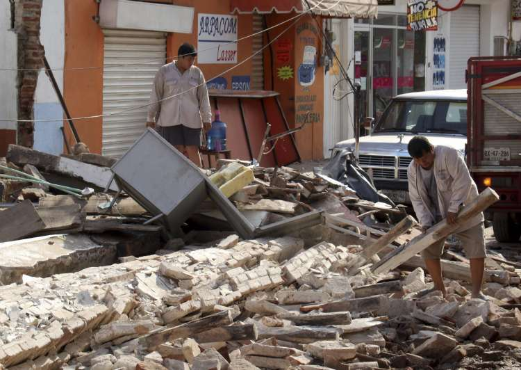 Death Toll From Massive Mexican Quake Rises to 65