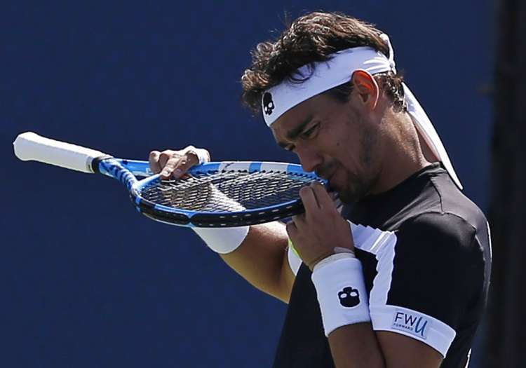 Fognini suspended from US Open over umpire remarks