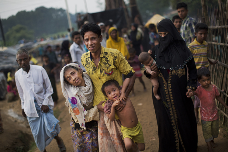 Central, Assam ministers say Rohingyas must go back