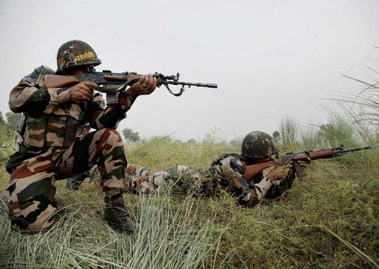 Pakistan violated opens fire along LoC in Kupwara