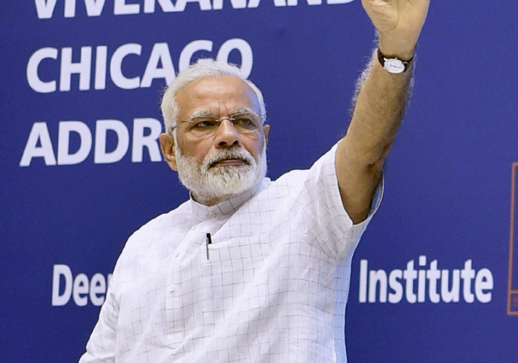 PM Modi at students' convention: Vivekananda converted ideas into idealism