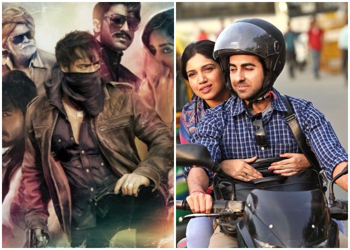 Ajay Devgn's Baadshaho makes money; Ayushmann's Shubh Mangal Savdhaan gets lauded