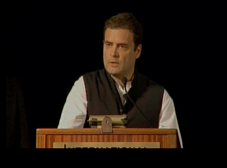 Image result for Violence, politics of polarisation have raised BJP's ugly head in India : Rahul Gandhi