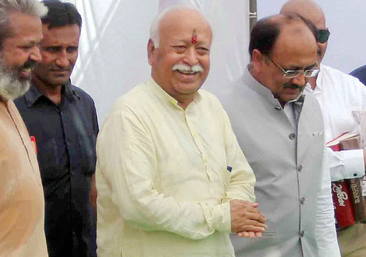 Kolkata Police denies role in 'no permission' for Mohan Bhagwat event