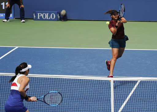Sania Mirza, Shuai Peng Advance to US Open Semi-finals