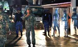 The Maldives plunged into a crisis with President Abdulla
