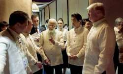 File photo of PM Modi with US President Donald Trump,