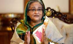 File pic of Sheikh Hasina