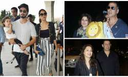Bollywood celebrities often travel either because of their