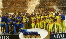 Chennai Super Kings completed a fairy tale comeback from