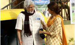 Shweta Bachchan Nanda makes acting debut with father