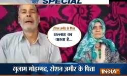 Elderly Kashmiri couple requests 'terrorist son' to