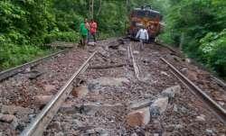 Chhattisgarh: Eight goods train wagons fall off bridge
