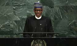 File photo of President Muhammadu Buhari of Nigeria