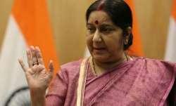 Sushma Swaraj met the Diplomatic Advisor to the President