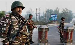 Cop killed, another hurt in attack by terrorists on