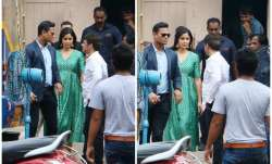 Bollywood actress Katrina Kaif was spotted at Mehboob
