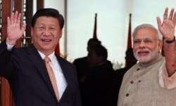 PM Narendra Modi and Chinese President Xi Jinping