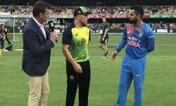 Australia vs India Live Cricket Score, Live blog, 1st T20I