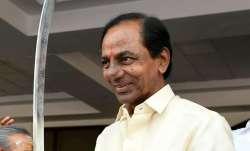 KCR to take oath as Telangana CM today