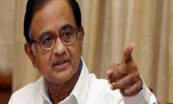 Senior Congress leader P Chidambaram