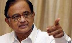 Former Union Minister P. Chidambaram