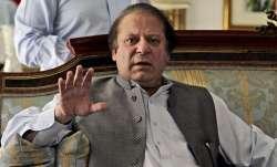 Former Pakistan Prime Minister Nawaz Sharif