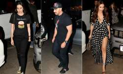 Arjun Kapoor and Malaika Arora were spotted on a dinner