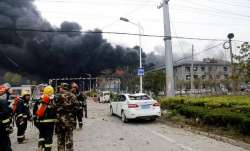 The explosion occurred on Thursday following a fire in a