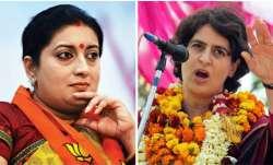 Priyanka, Smriti engage in war of words over shoe