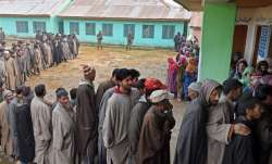 Nearly 65 per cent polling in Udhampur, 15 per cent in