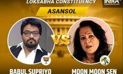 Asansol Lok Sabha key candidates
