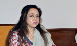 The BJP's Hema Malini (with Rs 250 crore) from Mathura