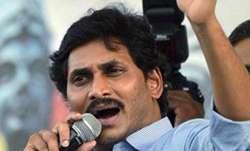 YSR Congress President Y S Jagan Mohan Reddy