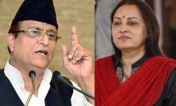 Samajwadi Party leader Azam Khan and his one-time party