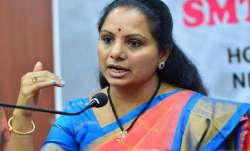 Kavitha was defeated by the Bharatiya Janata Party's D.