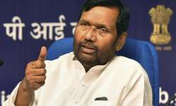 BJP ally and Union minister Ram Vilas Paswan