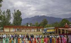 The Tashigang polling station is situated at a height of
