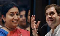 Smriti irani toppled Rahul Gandhi from Congress bastion