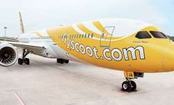 A Singapore-bound flight of Scoot airline, which took off