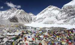 Garbage on the Everest