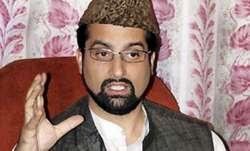 Senior separatist leader Mirwaiz Umar Farooq