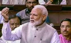 PM Modi's 'shayrana' dig at Congress